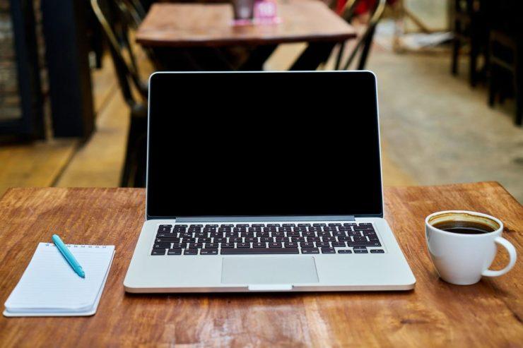 咖啡廳寫部落格