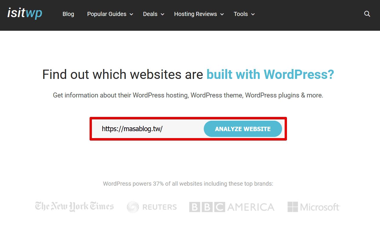 IsItWP - Free WordPress Theme Detector